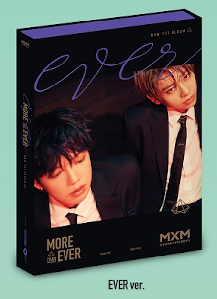 MXM BRAND NEW BOYS 1st ALBUM - MORE THAN EVER