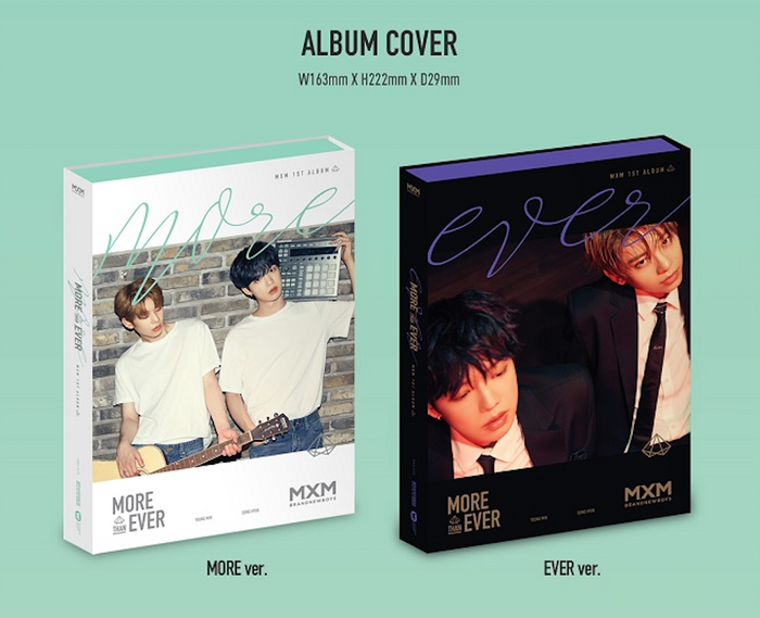 [Pre-Order] MXM BRAND NEW BOYS 1st ALBUM - MORE THAN EVER