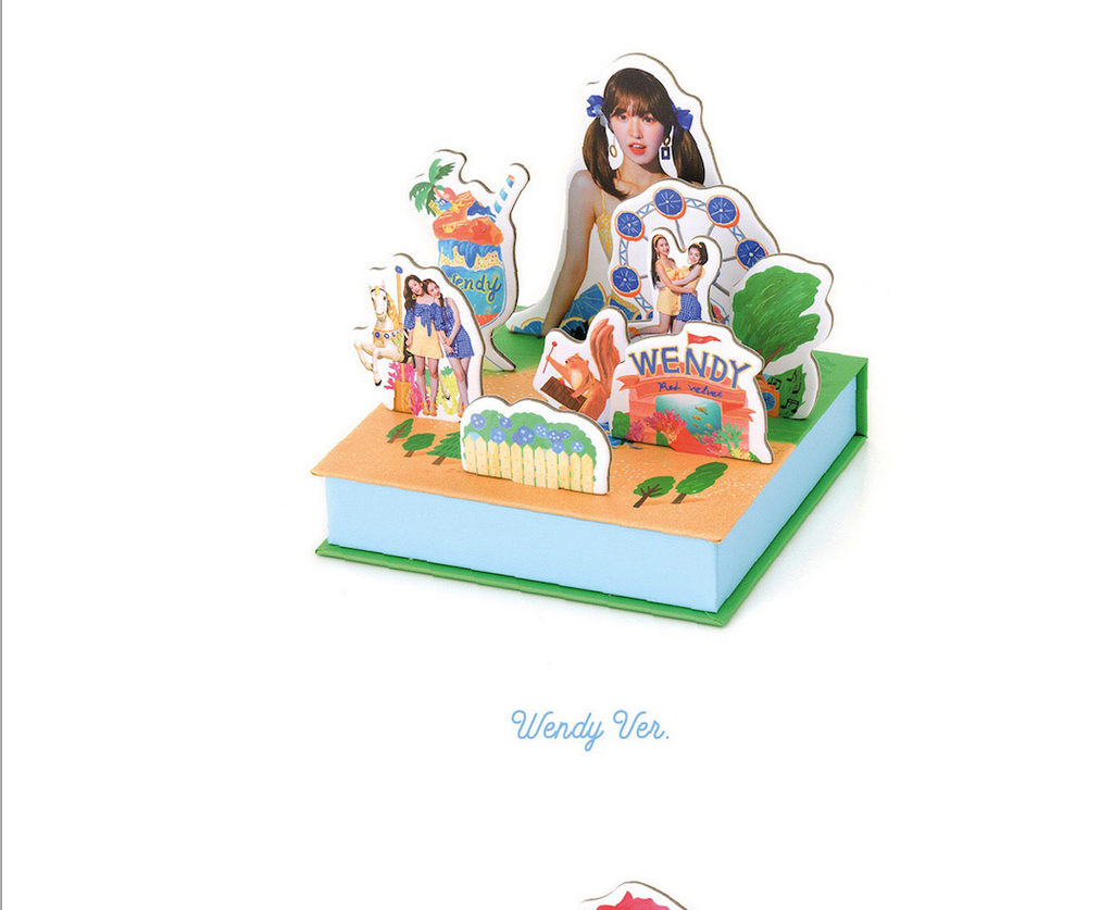 LIMITED EDITION RED VELVET SUMMER RELEASE  - SUMMER MAGIC