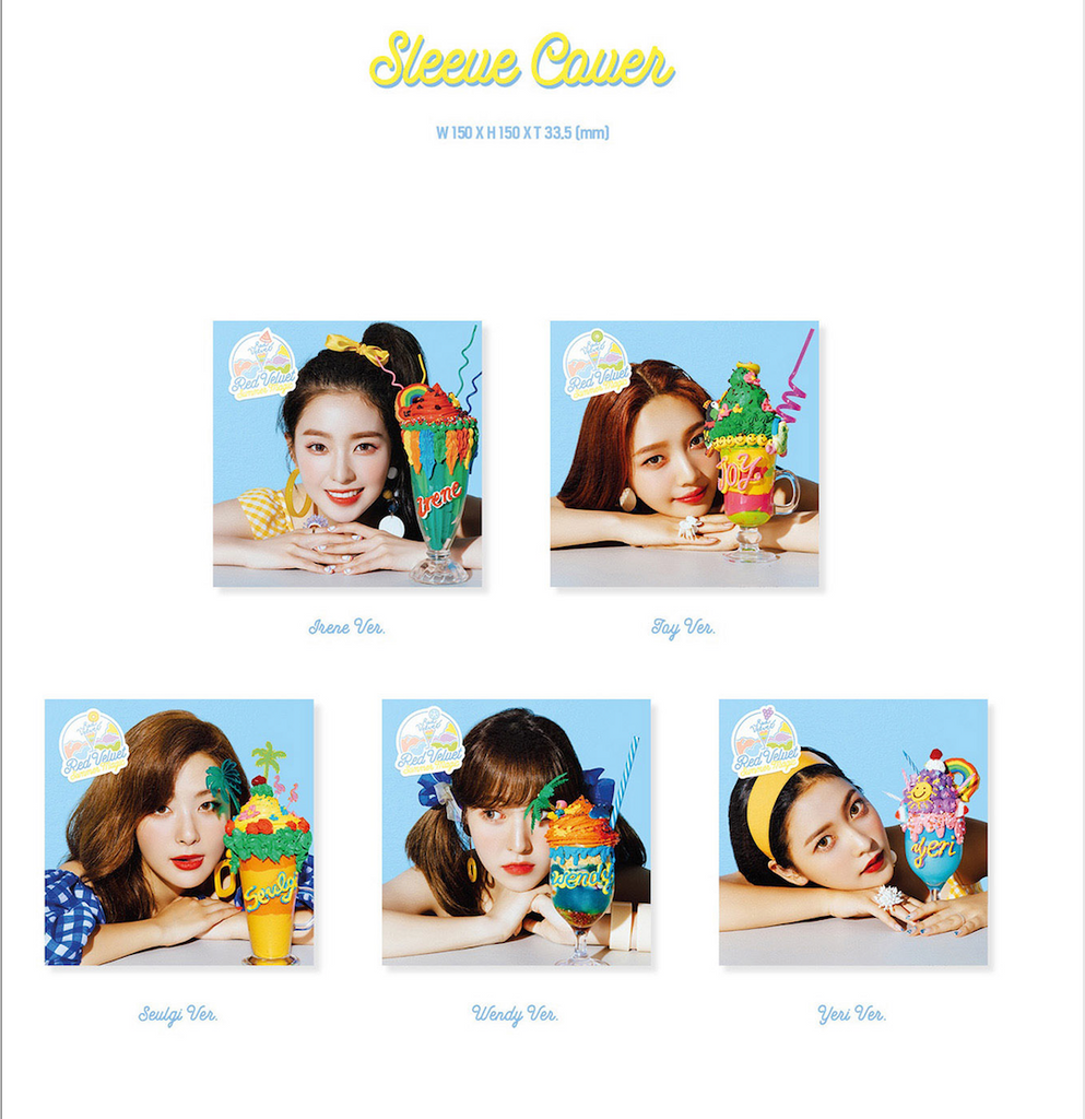 [Pre-Order] LIMITED EDITION RED VELVET SUMMER RELEASE  - SUMMER MAGIC