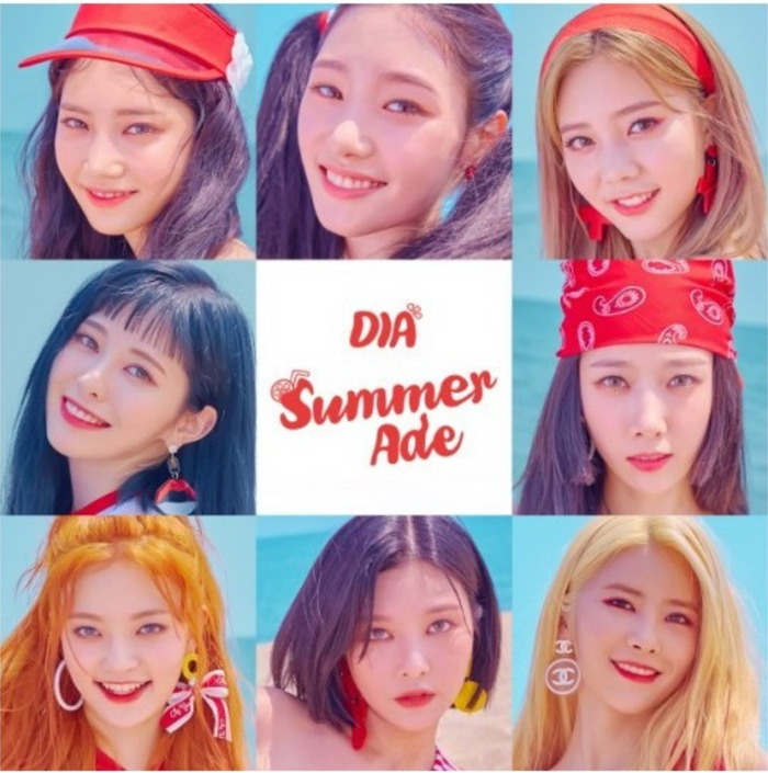 [Pre-Order] 다이아 (DIA) 4th MINI ALBUM - SUMMER ADE