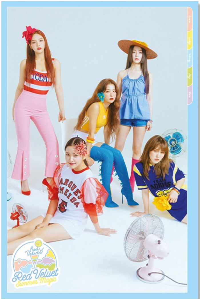 레드벨벳 RED VELVET - SUMMER MAGIC LIMITED EDITION OFFICIAL POSTER