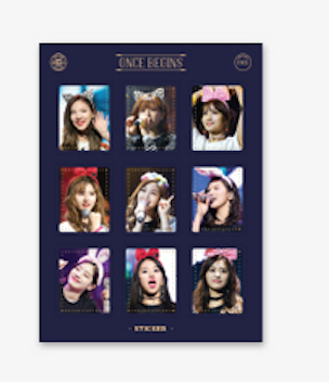 TWICE FANMEETING ONCE BEGINS BLU-RAY