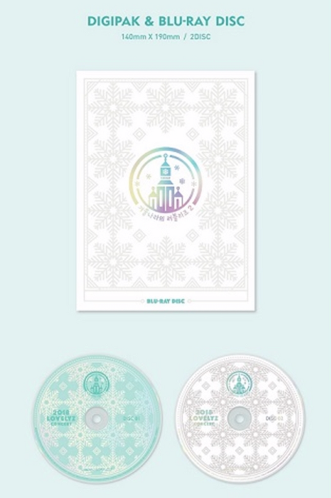 러블리즈 LOVELYZ BLU-RAY 2018 LOVELYZ CONCERT