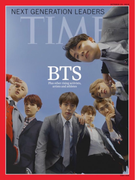 BTS TIME MAGAZINE POSTER