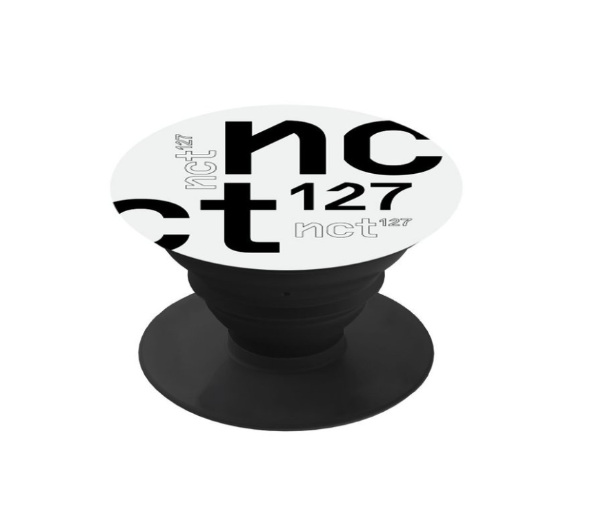 [Pre-Order] NCT 127 SM OFFICIAL POPPING HOLDER (WHITE)