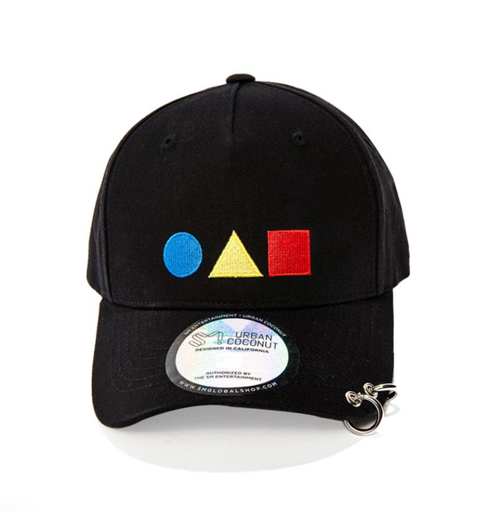 SHINEE SM OFFICIAL THE STORY OF LIGHT DAD HAT WITH LONG STRAP AND RINGS
