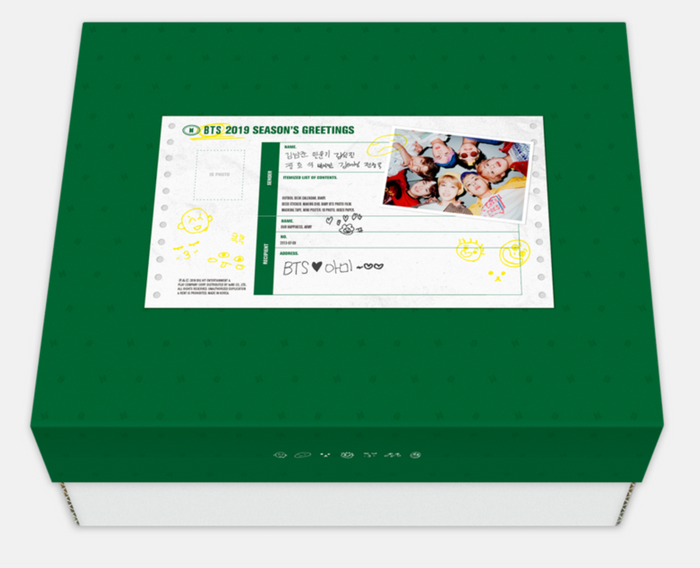 [Pre-Order] BTS 2019 SEASON'S GREETINGS