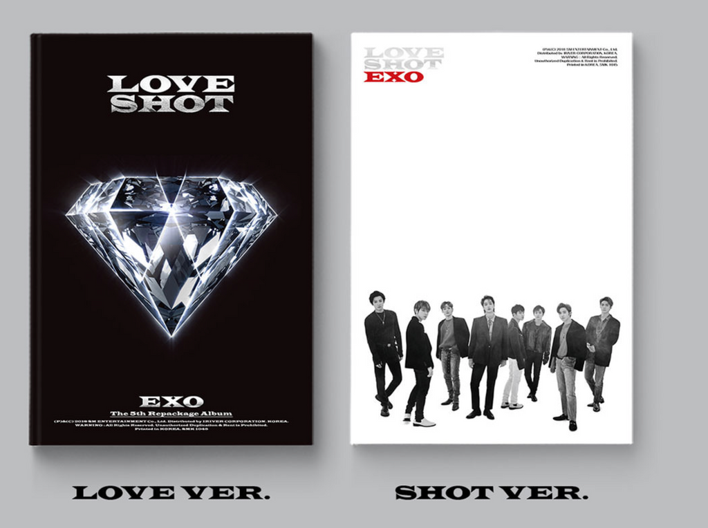 엑소 EXO 5TH REPACKAGE ALBUM - LOVE SHOT