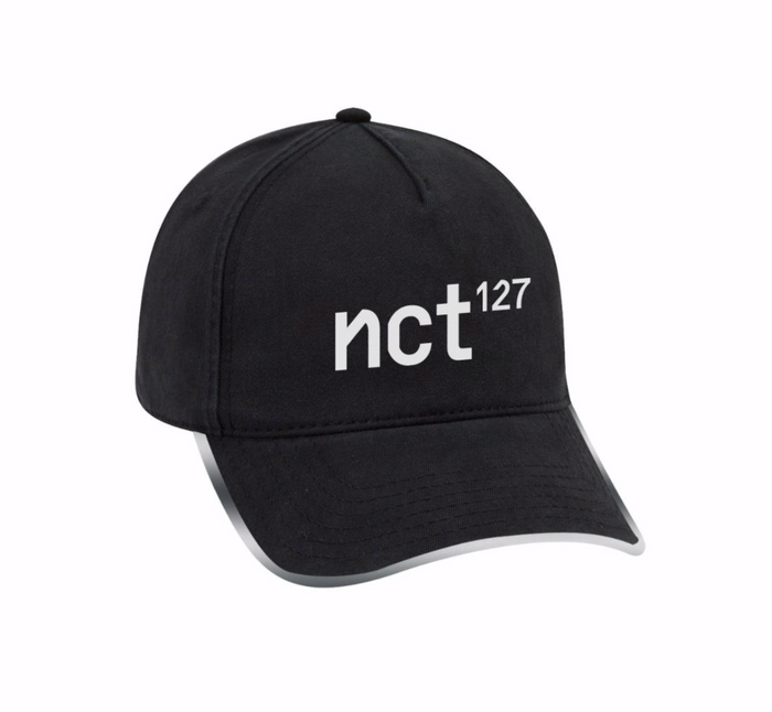 NCT 127 - 5 PANEL STRAP ADJUSTABLE DAD HAT WITH LONG STRAP