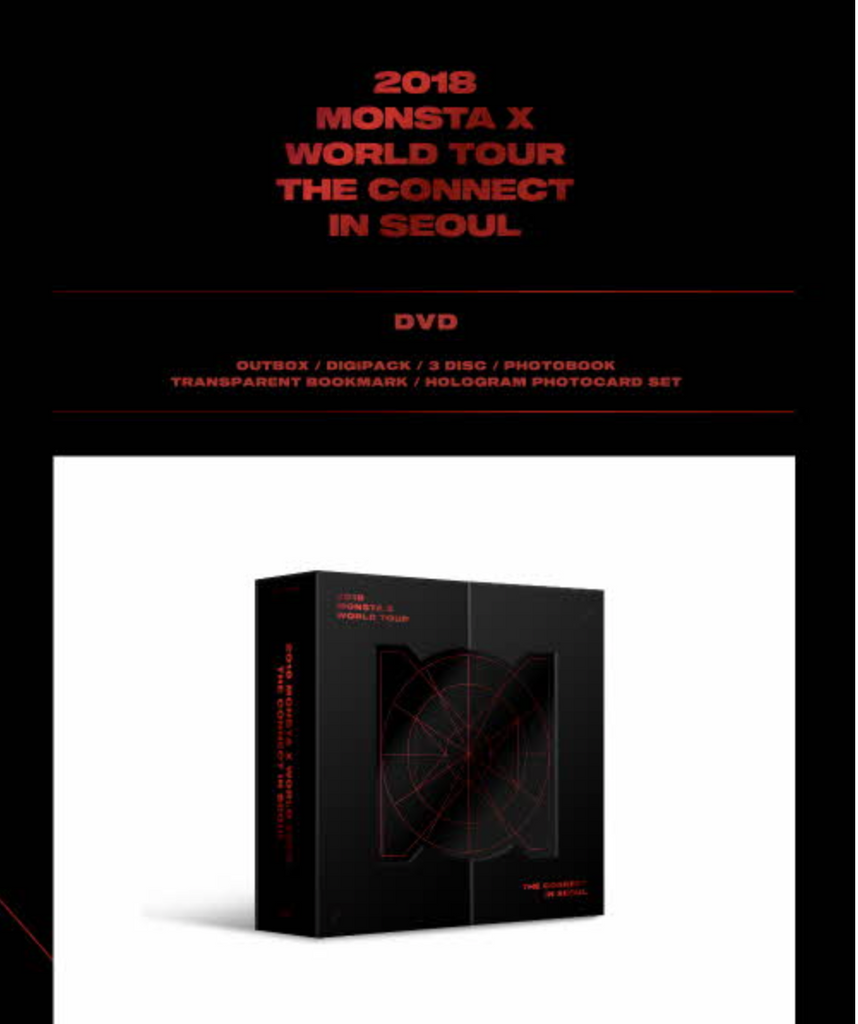 MONSTA X - 2018 MONSTA X WORLD TOUR THE CONNECT IN SEOUL [DVD]