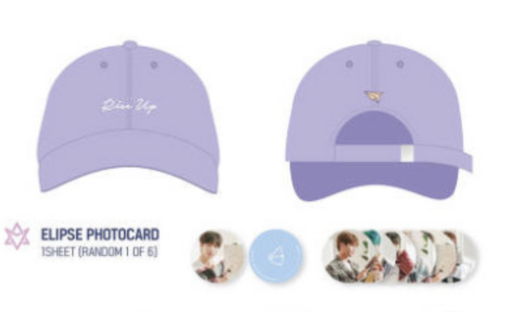 ASTRO Photo Exhibition Official Goods - Ball Cap + Random Member Photocard