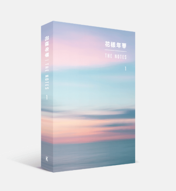 BTS 花樣年華 [THE MOST BEAUTIFUL MOMENT IN LIFE] THE NOTES 1 (KOREAN VER.)