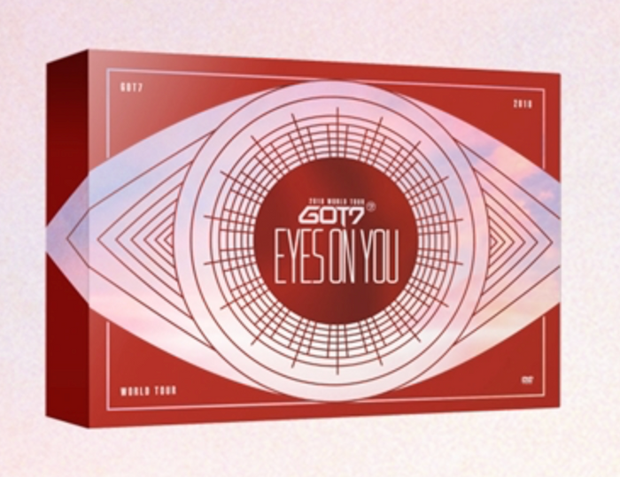 "[Pre-Order] GOT7 World Tour ""Eyes On You"" Blu-Ray Disc"