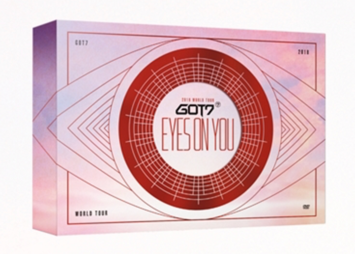 "[Pre-Order] GOT7 World Tour ""Eyes On You"" DVD"
