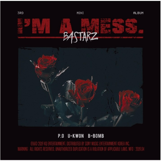 BLOCK B BASTARZ 3rd Mini Album - I'm a mess