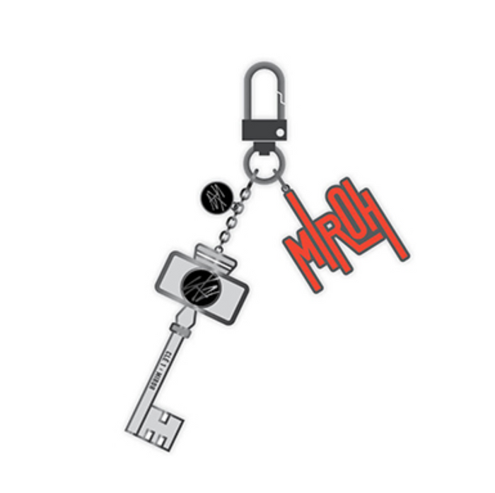 Stray Kids - Metal Charm Keyring  [Hi-STAY TOUR FINALE IN SEOUL]