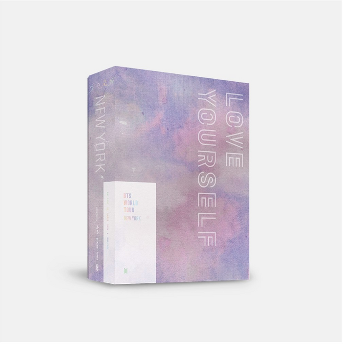 BTS WORLD TOUR 'LOVE YOURSELF' NEW YORK DVD