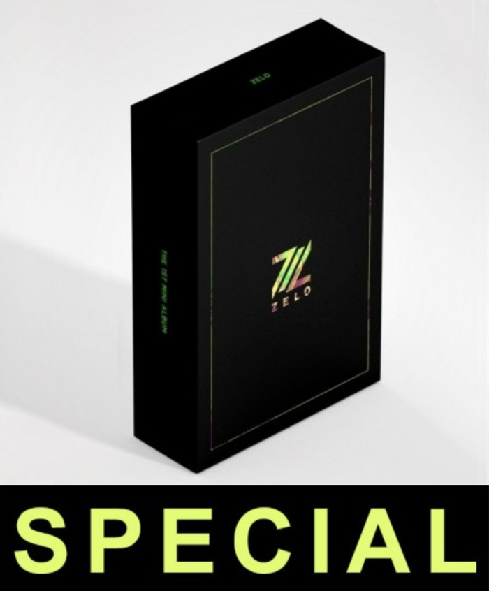[Pre-Order] ZELO 1st Mini Album - DISTANCE (Special Edition)