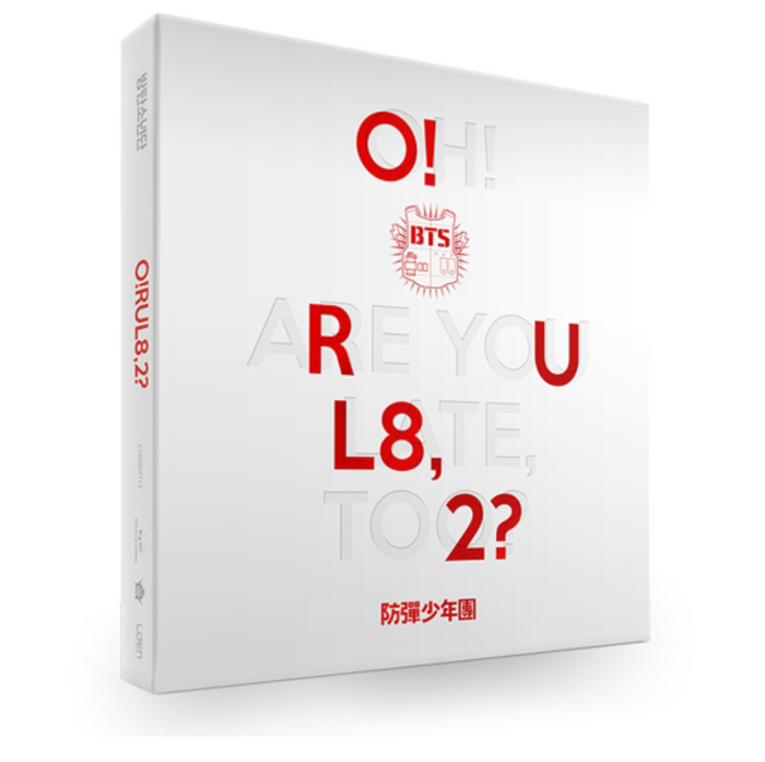 BTS 1st Mini Album - O!RUL8,2?