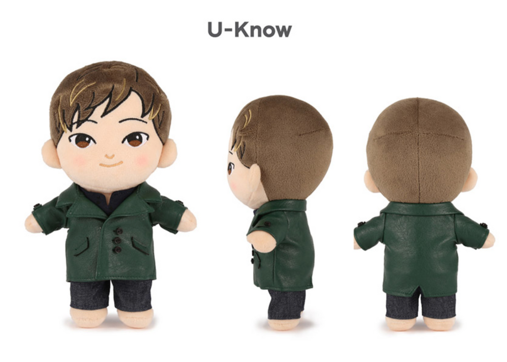 TVXQ Official Goods - CHARACTER DOLL