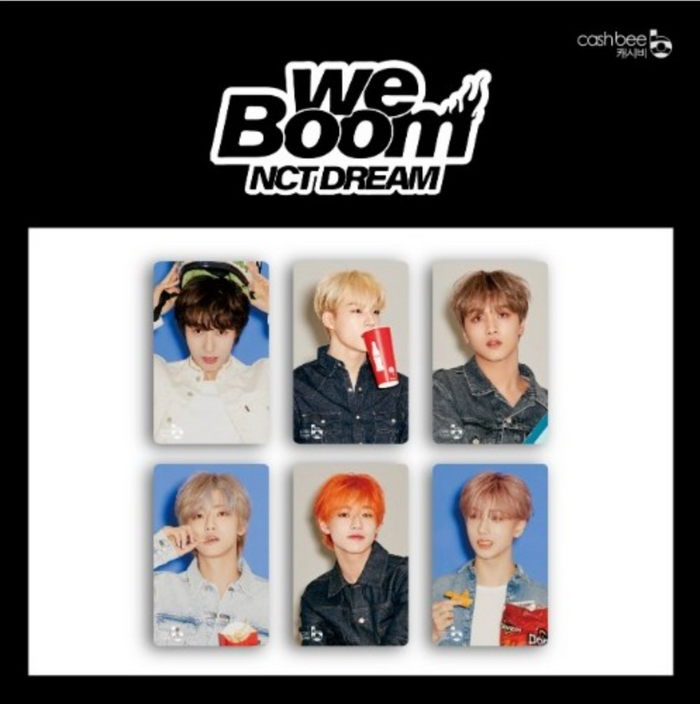NCT DREAM CASHBEE Transportation Card