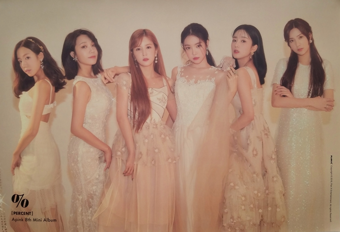 APink 8th Mini Album Percent Official Poster - Photo Concept 1