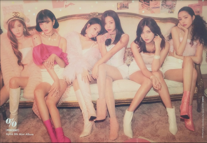 APink 8th Mini Album Percent Official Poster - Photo Concept 2