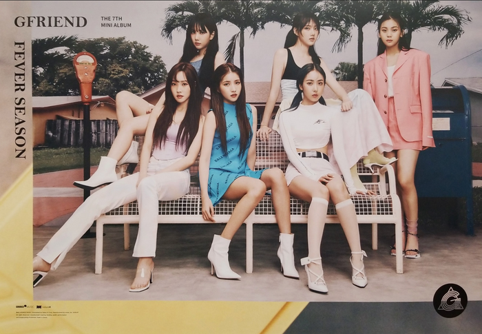 GFRIEND 7th Mini Album Fever Season Official Poster - Photo Concept 2