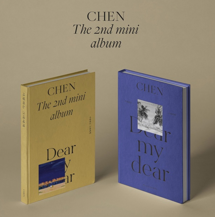 CHEN 2nd Mini Album - Dear my dear