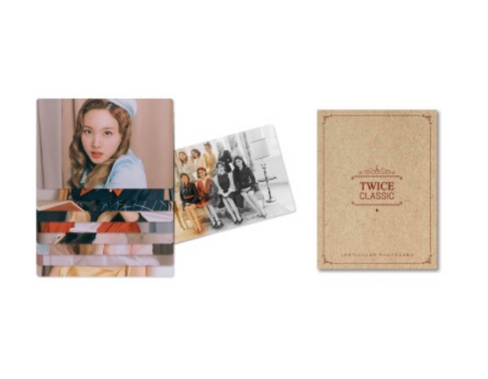 TWICE Once Halloween 2 Goods - LENTICULAR PHOTO CARD SET