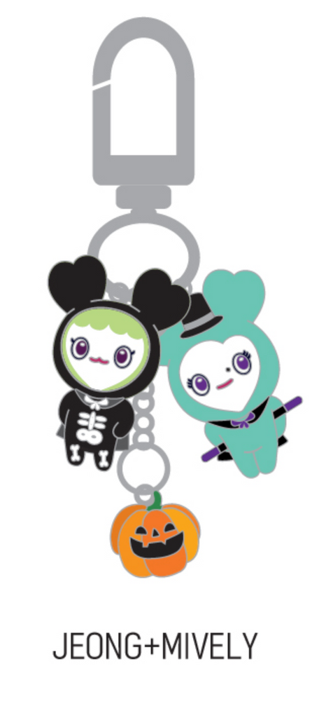 TWICE ONCE HALLOWEEN 2 GOODS - LOVELY MINI KEYRING