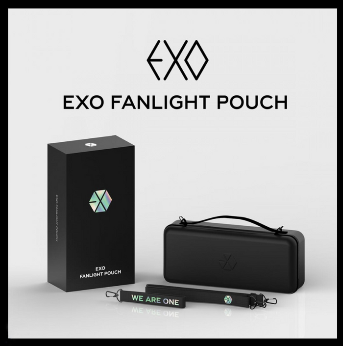 EXO Official Goods - FANLIGHT POUCH