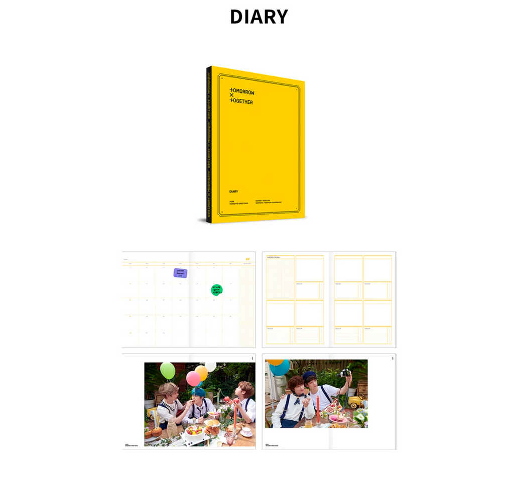 TOMORROW X TOGETHER TXT 2020 SEASON'S GREETINGS