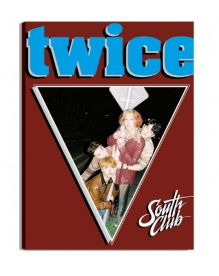 [Pre-Order] South Club 4th Single Album - Twice