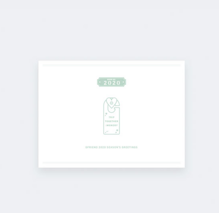 [Pre-Order] GFRIEND 2020 SEASON'S GREETINGS