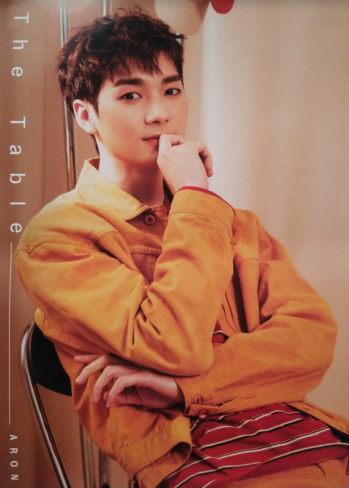 Nuest 7th Mini Album The Table Official Poster - Photo Concept Aron