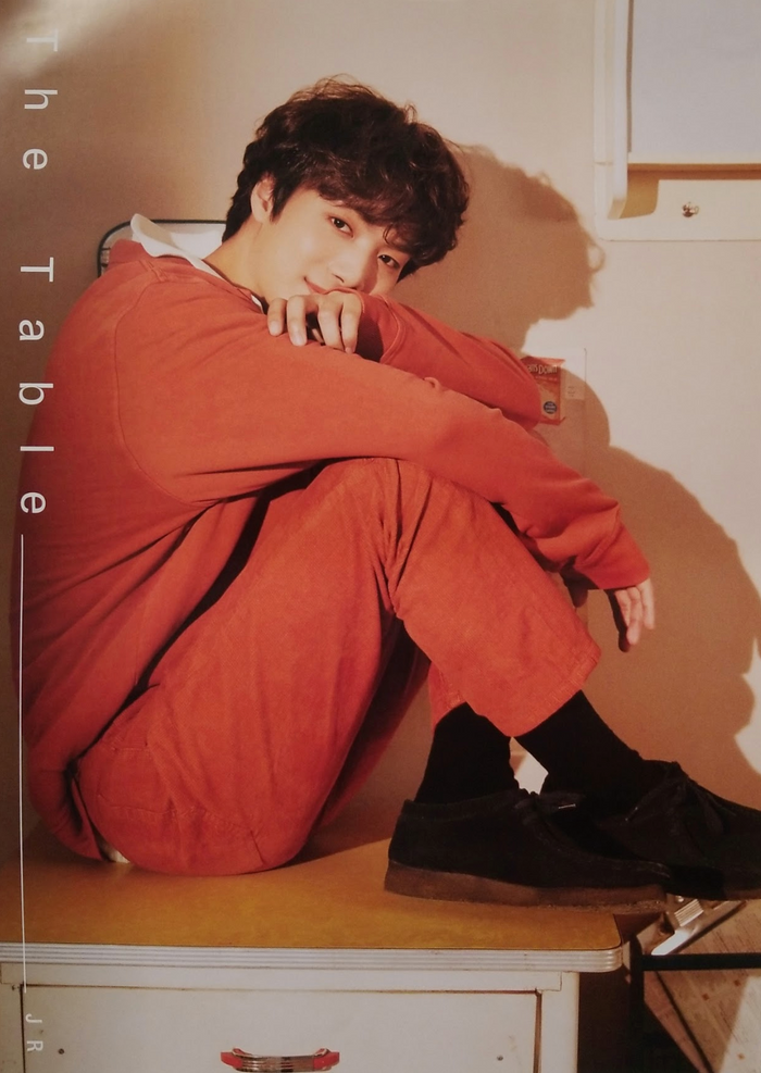 Nuest 7th Mini Album The Table Official Poster - Photo Concept JR