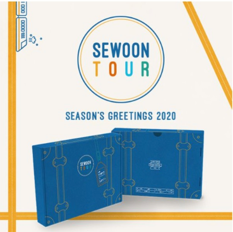 [Pre-Order] JEONG SEWOON 2020 SEASON'S GREETINGS