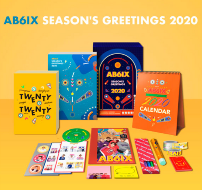 [Pre-Order] AB6IX - 2020 SEASON'S GREETINGS