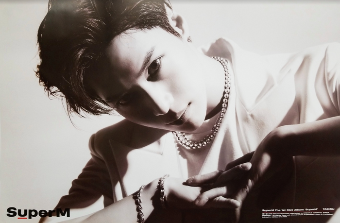 SuperM 1st Mini Album SuperM Official Poster - Photo Concept Taemin