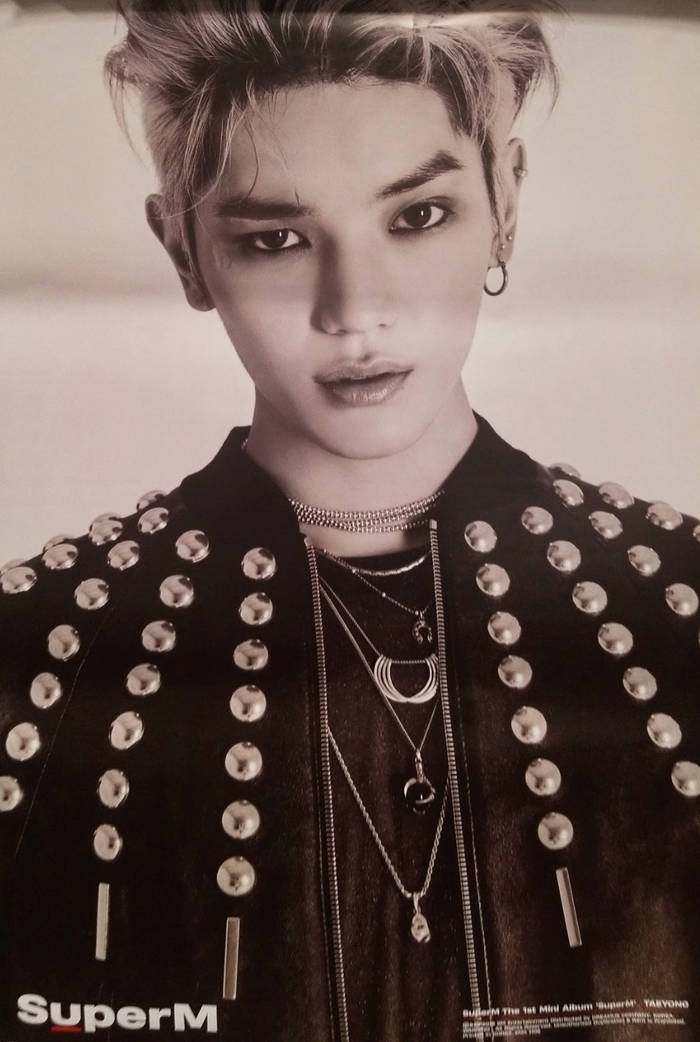 SuperM 1st Mini Album SuperM Official Poster - Photo Concept Taeyong