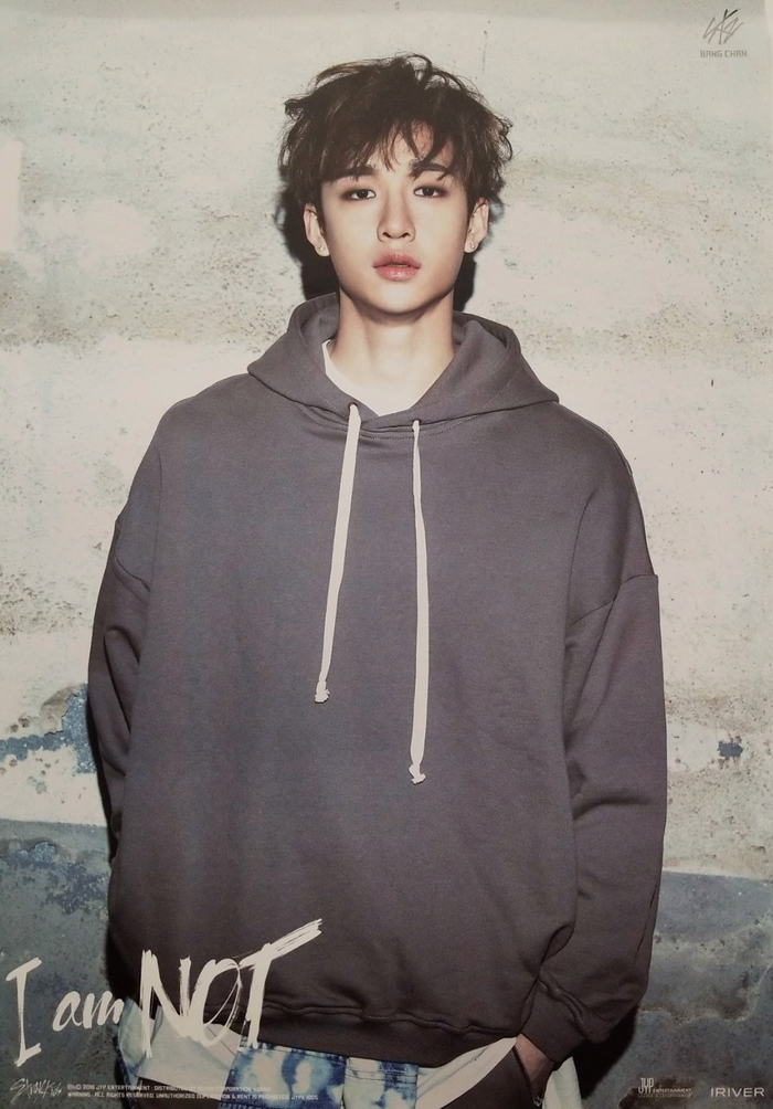 STRAY KIDS 1ST MINI ALBUM [I AM NOT] LIMITED EDITION MEMBER POSTER - BANG CHAN