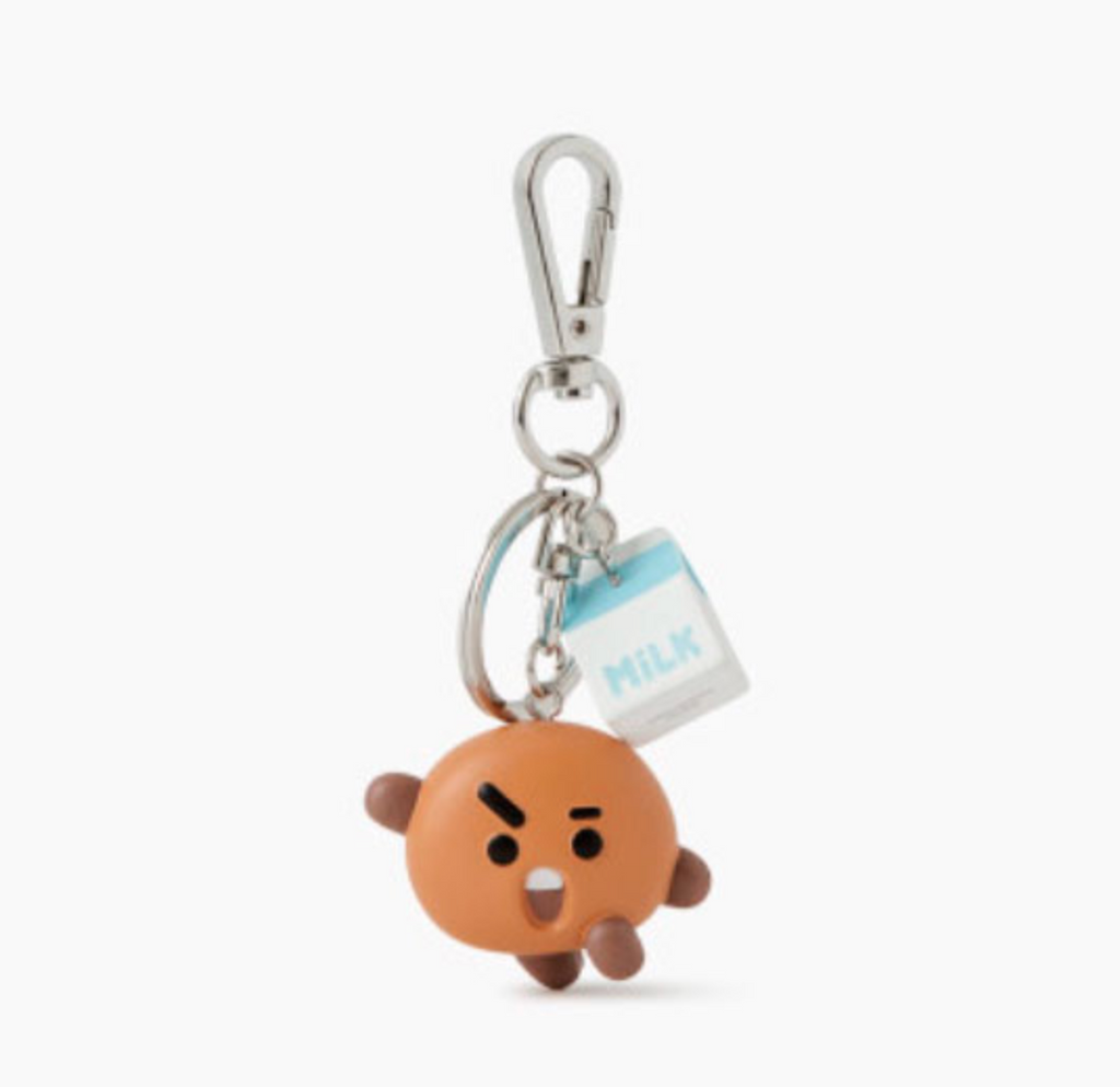 BT21 Line Friends Collaboration Official Merchandise - Mini Figure Keyring