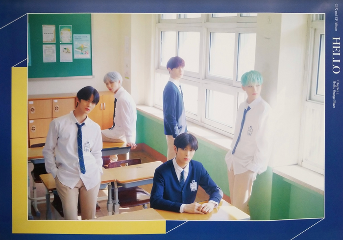CIX 2nd Mini Album Hello Chapter 2 Official Poster - Photo Concept Hello