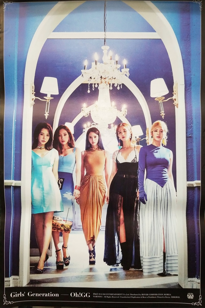 Girl's Generation Oh GG! Kihno Album Official Poster - Photo Concept 1