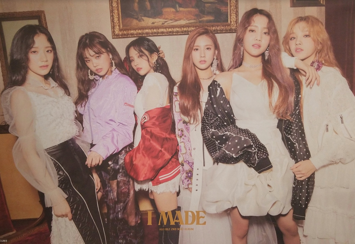 (G)I-DLE 2nd Mini Album I Made Official Poster - Photo Concept 1