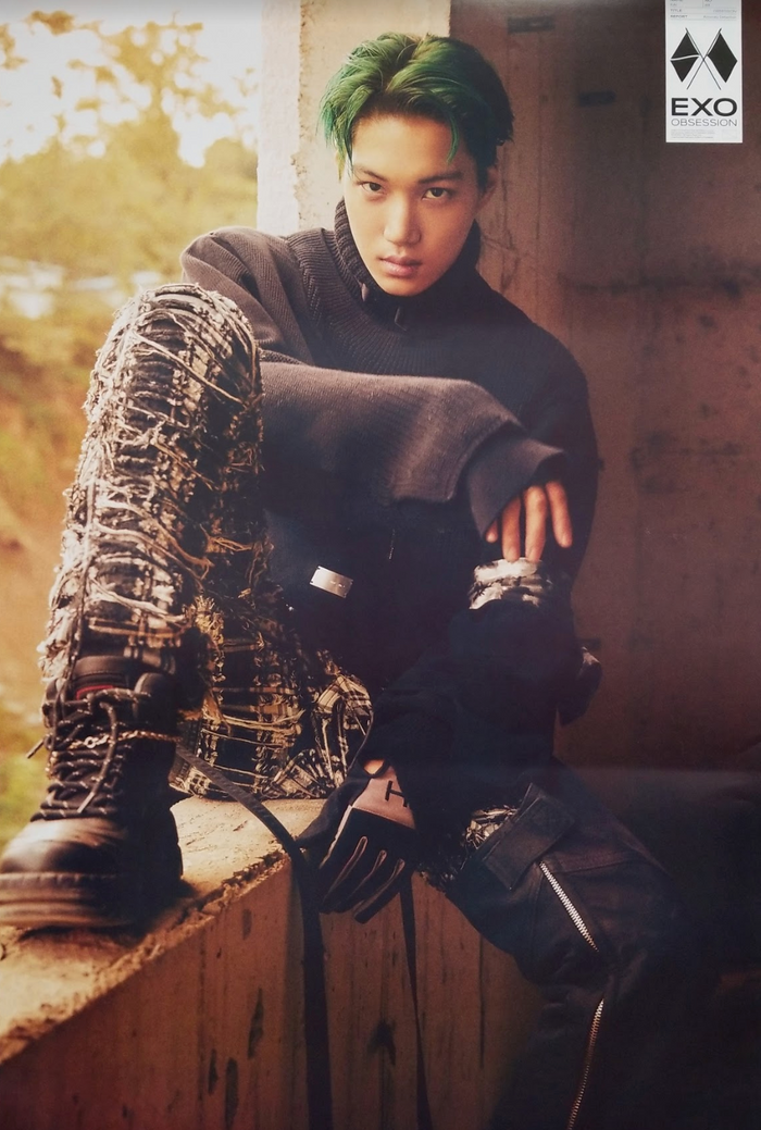 EXO 6th Album Obsession Official Poster - Photo Concept Kai A