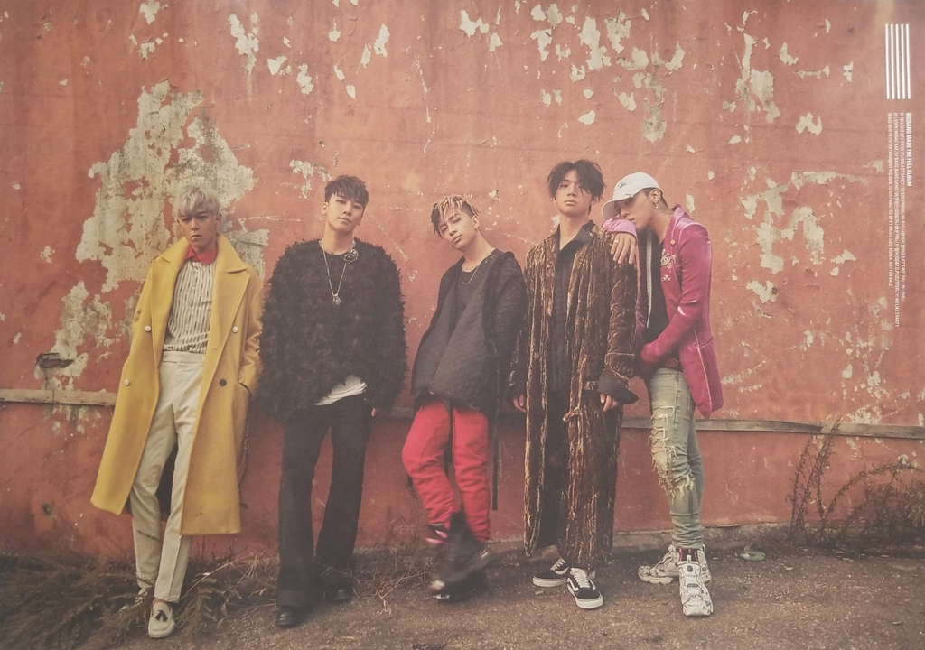BIGBANG The Full Album Made Double Sided Official Poster - Photo Concept 1