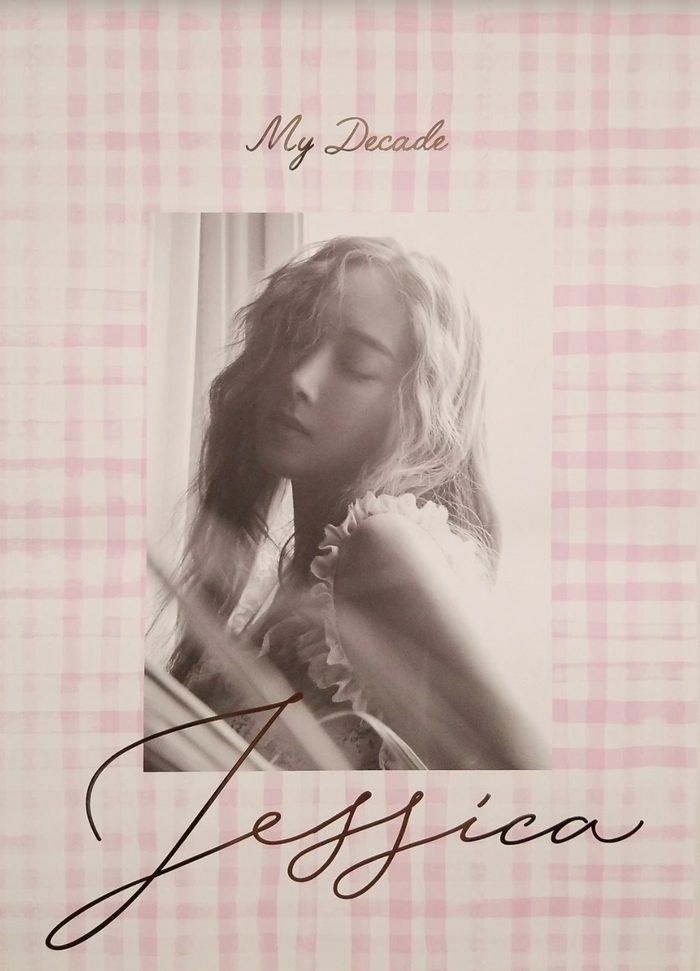 Jessica 3rd Mini Album My Decade Official Poster - Photo Concept 1